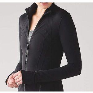 Lululemon 1X Define Jacket Black full zip EUC